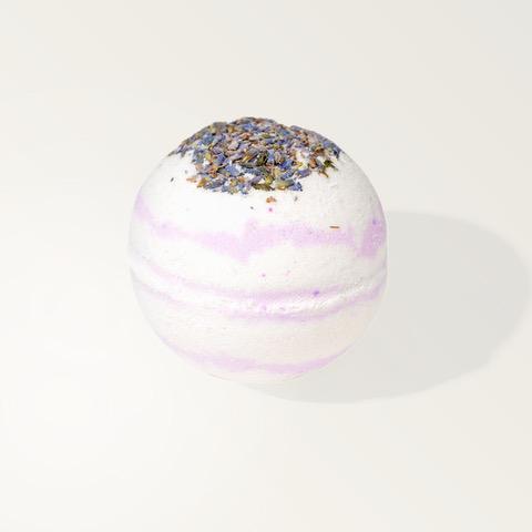 CBD Bath Bomb Lavender and Avocado Oil