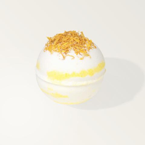 CBD Bath Bomb Lemon & Bergamot
