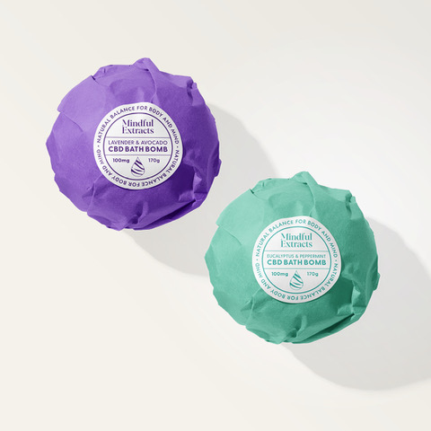 Two pack of CBD Bath Bombs