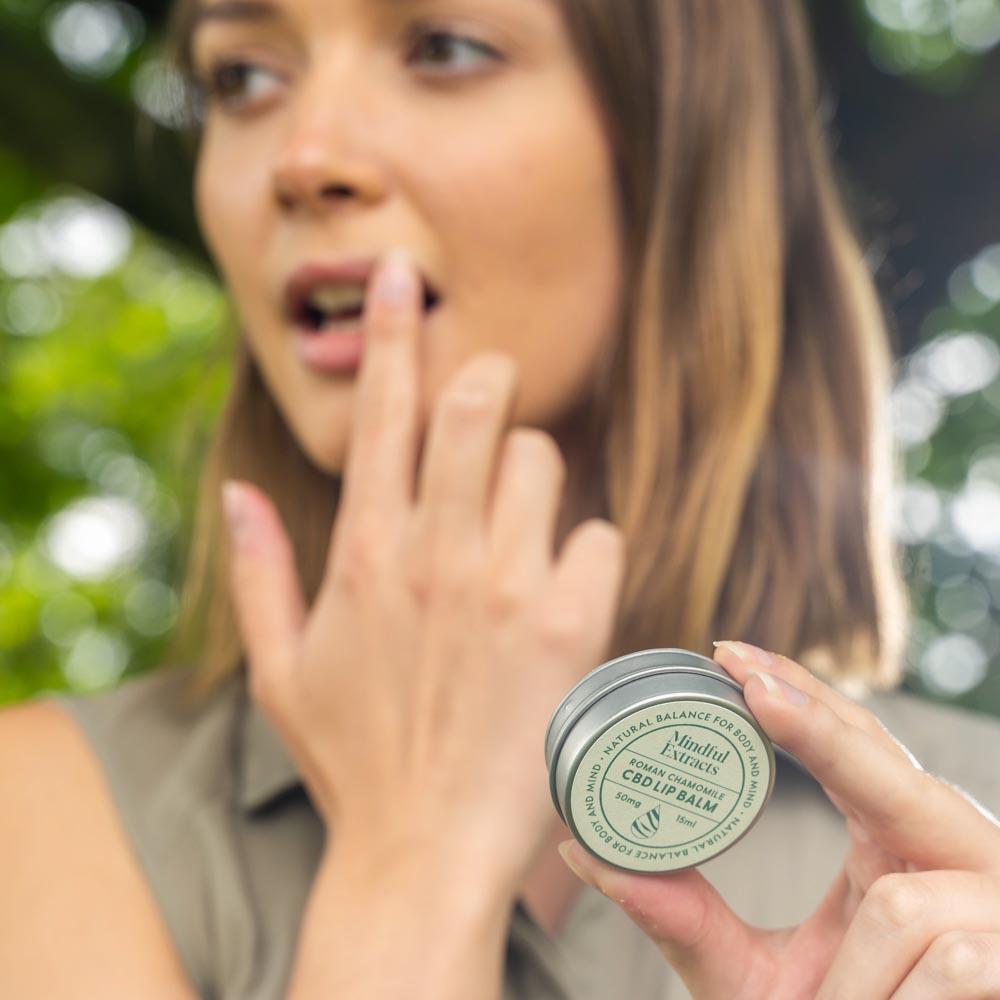 CBD Lip Balm - Roman Chamomile